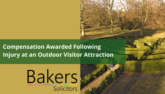 Compensation Awarded Following Injury at an Outdoor Visitor Attraction